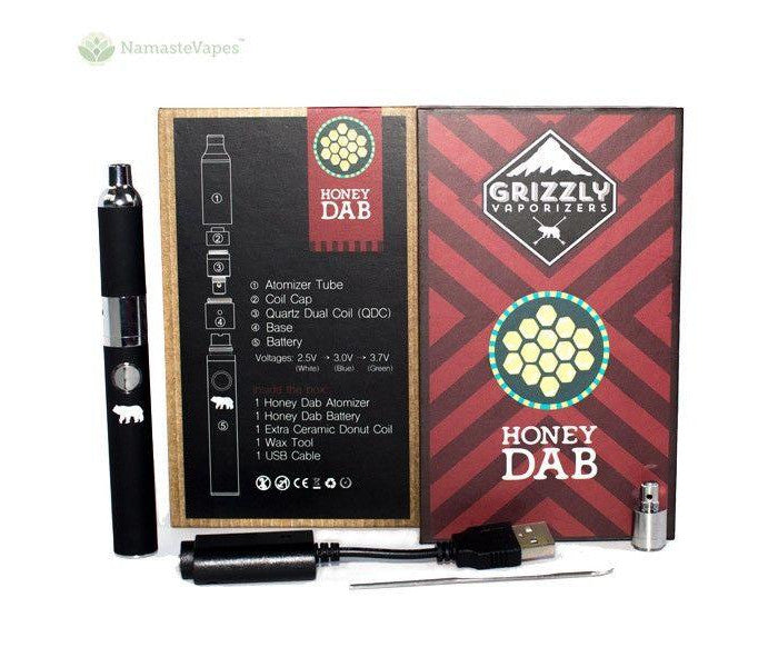 Grizzly Honey Dab Pen Vaporizer Namaste Vapes DE