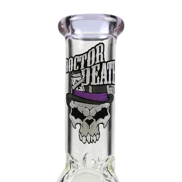 "Chongz Dr. Death ""Negligible..Exist?"" 20cm Glass Water Pipe"