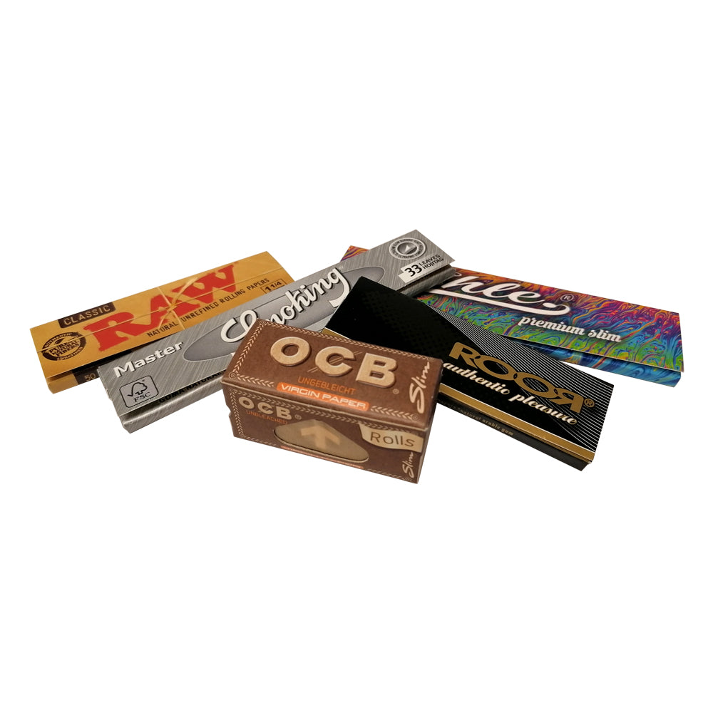 5 Mixed Rolling Papers