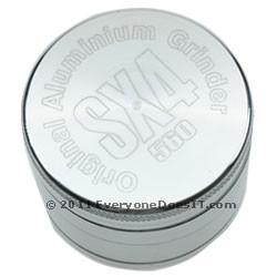 SX4 4 Part Grinder/Sifter Silver UK