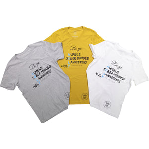 Be Ye Holy! White Womens' Tee