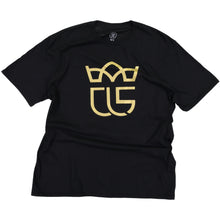 "Load image into Gallery viewer, ""Crowned"" Christ Life Black Tee"