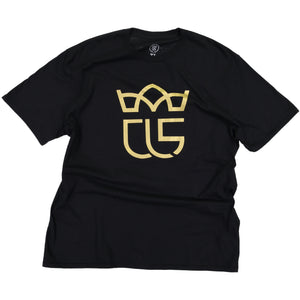 """Crowned"" Christ Life Black Tee"