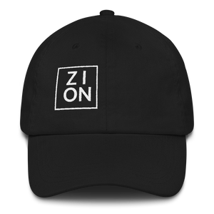 """ZION"" Embroidered Dad Hat"
