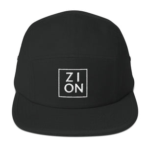 """ZION"" Embroidered Camper Hat"