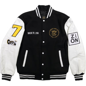 Patched Up! Varsity Jacket