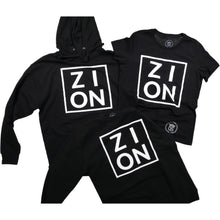 Load image into Gallery viewer, ZION Black Hoodie
