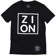 "Load image into Gallery viewer, ""ZION"" Black Tee"