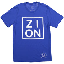 "Load image into Gallery viewer, ""ZION"" Royal Tee"
