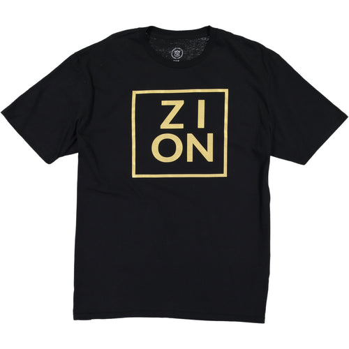 ZION Metallic Gold Tee