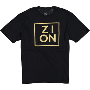 """ZION"" Metallic Gold Tee"