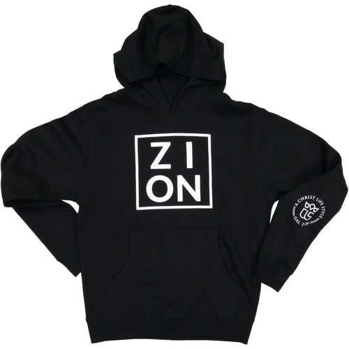 ZION Youth Black Hoodie