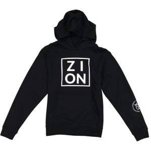 "Youth ""ZION"" Black Hoodie"