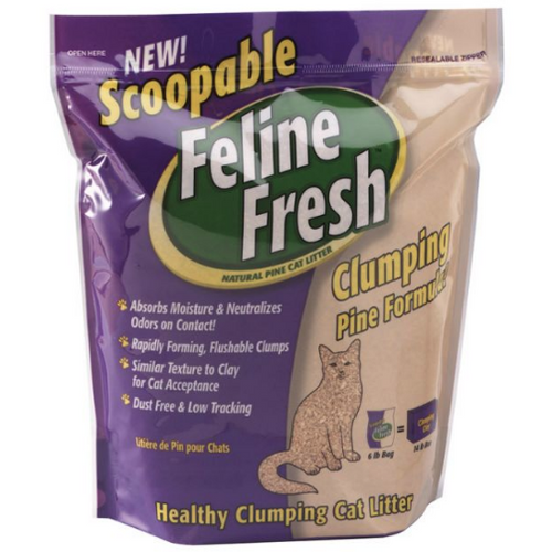 Feline Fresh Scoopable Clumping Pine Cat Litter At Brandy's