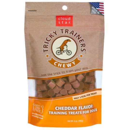 Chewy Tricky Trainers - Cheddar - Brandy's Holistic Center & Canine Grooming