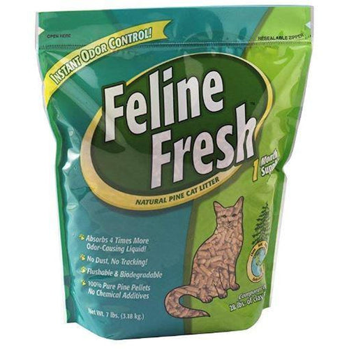 regular non clumping pine litter feline fresh at brandy's