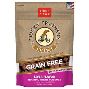 Chewy Tricky Trainers - Grain-Free Liver - Brandy's Holistic Center & Canine Grooming