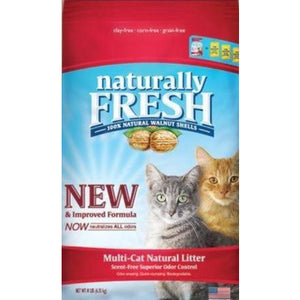 Naturally Fresh - Multi Cat Clumping Litter - Brandy's Holistic Center & Canine Grooming
