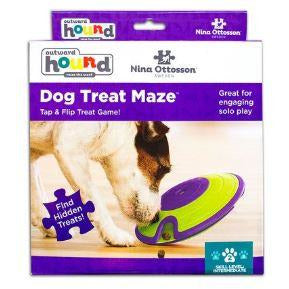 nina ottoson interactive dog treat maze puzzle at brandy's