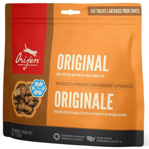 orijen's original freeze-dried cat treats at brandy's