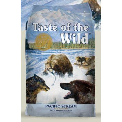 taste of the wild's pacific stream dry dog food formula at brandy's