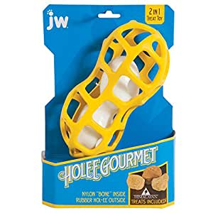 jw's Hoolee Gourmet Peanut interactive dog toy at brandy's