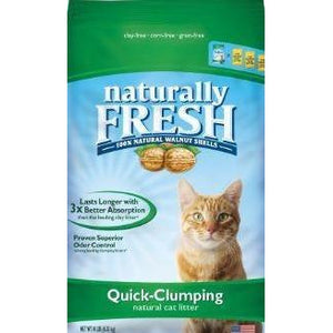 blue's naturally fresh quick clumping cat litter at brandy's