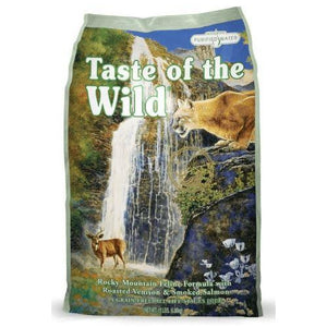 taste of the wild's rocky mountain dry cat food formula at brandy's