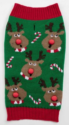 Rudolph Sweater - Brandy's Holistic Center & Canine Grooming