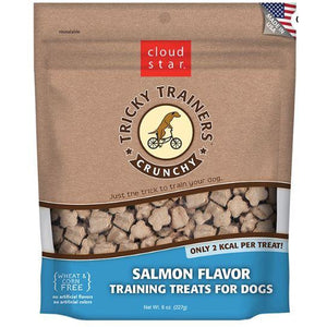 Crunchy Tricky Trainers - Salmon - Brandy's Holistic Center & Canine Grooming