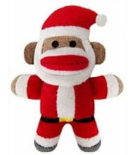 Load image into Gallery viewer, Holiday Sock Monkey - Brandy's Holistic Center & Canine Grooming