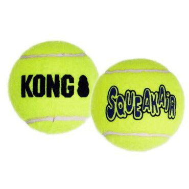 kong's squeakair tennis ball toys at brandy's