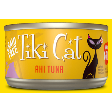tiki cat's hawaiin grill - ahi tuna canned cat food at brandy's