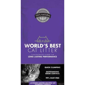 World's Best Cat litter - Lavender Scented (Multi Cat) - Brandy's Holistic Center & Canine Grooming
