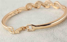 Load image into Gallery viewer, Gold Austrian Crystal Bracelet