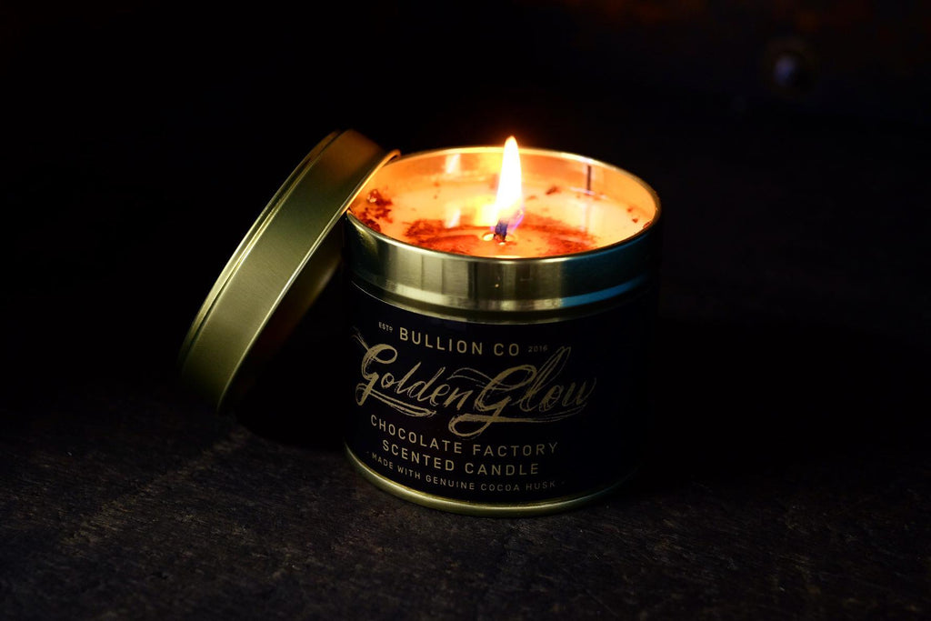 Golden Glow Chocolate Factory Scented Candle