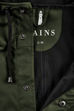 RAINS Long Jacket - Green Men's - La Luce - 5