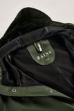 RAINS Long Jacket - Green Men's - La Luce - 8