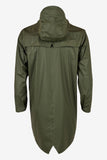 RAINS Long Jacket - Green Men's - La Luce - 4
