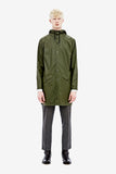 RAINS Long Jacket - Green Men's - La Luce - 2