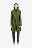 Rains Curve Jacket - Green, Raincoats - La Luce