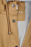 RAINS Curve Jacket - Khaki, Raincoats - La Luce