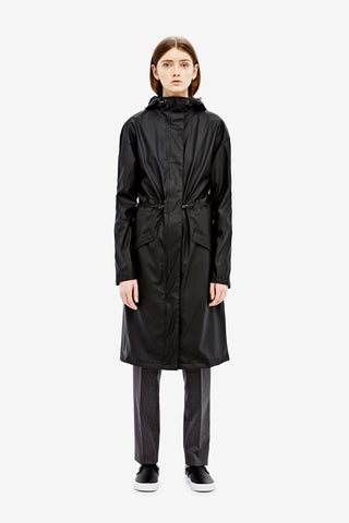 RAINS Noon Coat - Black - La Luce - 2