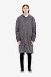 RAINS Loose-fit Jacket - Smoke - La Luce - 2