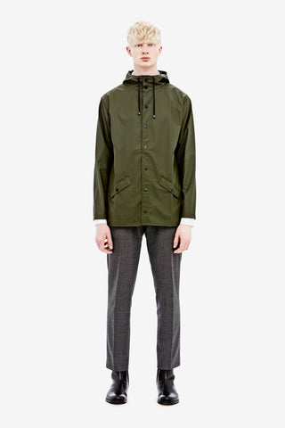 Rains Green Jacket, Raincoats - La Luce