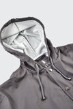 RAINS Loose-fit Jacket - Smoke - La Luce - 5