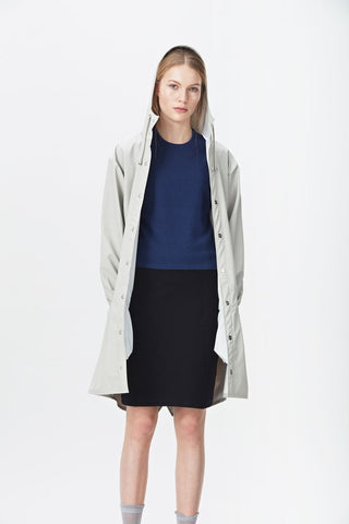 RAINS Long Jacket - Moon