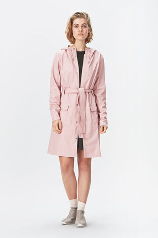 Rains Curve Jacket - Rose, Raincoats - La Luce