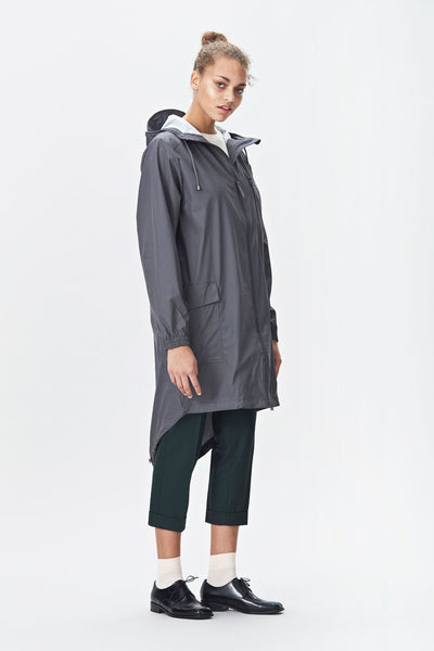 RAINS Parka - Smoke