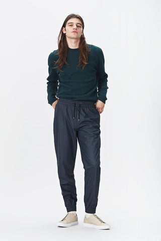 Rains Trousers - Blue men's, Trousers - La Luce